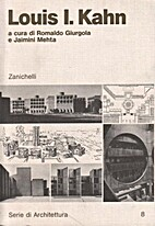 Louis I. Kahn: Arquitecto by Louis I. Kahn