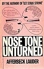 Nose Tone Unturned: People; Predicaments;…
