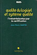 Qualité du logiciel et système qualité…