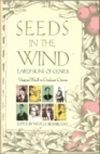 Seeds in the Wind: Juvenilia from W.B. Yeats…