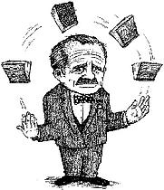 Author photo. Illustration: <a href=&quot;http://www.hughillustration.com/&quot;> Hugh D'Andrade </a>