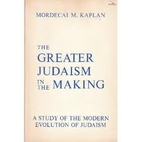 The greater Judaism in the making; a study…