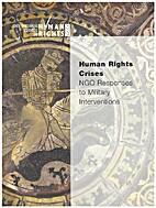 Human rights crises : NGO responses to…