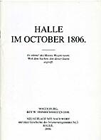 Halle im October 1806