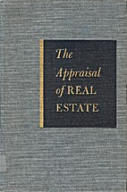 The Appraisal of real estate by American…