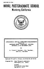 November 1989 Atmospheric Optical Turbulence…