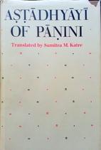 Astadhyayi of Panini: In Roman…