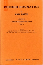 Church Dogmatics by Karl Barth