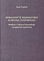 Moralność w perspektywie słownika i…