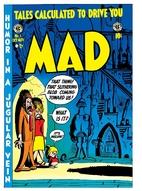 Mad Magazine #1 by Harvey Kurtzman