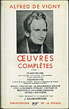 Oeuvres complètes, tome 1 by Alfred de…