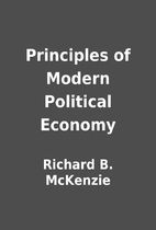 Principles of Modern Political Economy by…