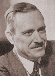 Author photo. Earl R. Browder, General Secretary of the Communist Party USA From ''The Communist,'' vol. 18, no. 9 (Sept. 1939)