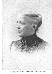 Author photo. Margaret Elizabeth Munson Sangster (b.1838), Buffalo Electrotype and Engraving Co., Buffalo, N.Y.