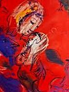 Motherhood [image] by Marc Chagall