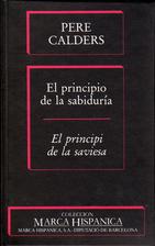El Principio de la sabiduría = El principi…