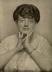 Author photo. Image from <b><i>My own past</i></b> (1915) by Maude M. C. Ffoulkes