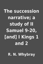 The succession narrative; a study of II…