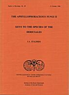 The Aphyllophoraceous Fungi II: Keys to the…