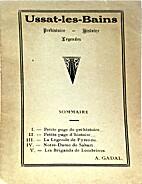 Ussat-les-Bains : préhistoire - histoire -…