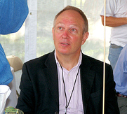 Author photo. Photo by Larry D. Moore at the Texas Book Festival