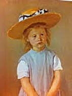 Child in a Straw Hat [image] by Mary Cassatt