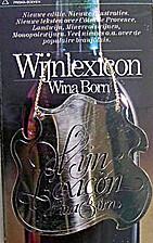 Wijnlexicon by Wina Born