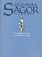 Isländska sagor. D. 1 by Hjalmar Alving