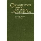 Organization Theory for Public…