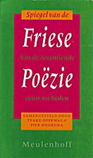 Spiegel van de Friese poëzie van de…