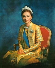 Author photo. Farah Pahlavi, Shahbanu of Iran