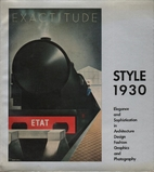 Into the thirties : style and design 1927 -…