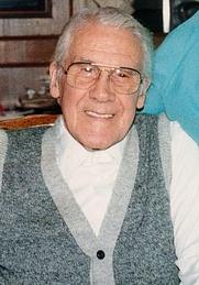Author photo. Leonard Ravenhill at age 81 [source: Roland Heddins via Wikipedia]