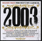 2003: Exclusive Tracks from Uncut's Top…