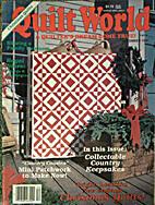 Quilt World Magazine, December 1987 by…