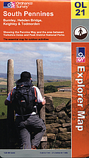 Outdoor Leisure Map 021: South Pennines by…