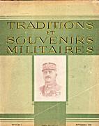TRADITIONS ET SOUVENIRS MILITAIRES N°1…