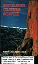 Boulder Climbs South by Richard Rossiter