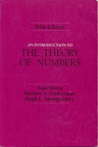 An Introduction to the Theory of Numbers by…