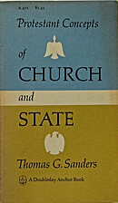 Protestant concepts of church and state;…