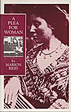 Plea for Woman by Marion Reid