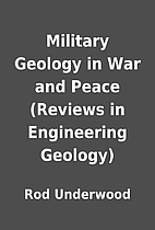 Military Geology in War and Peace (Reviews…