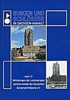 Burgen und Schlösser in Sachsen-Anhalt.…