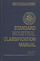 Standard Industrial Classification Manual by…