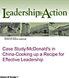 Case Study/McDonald's in China-Cooking up a…