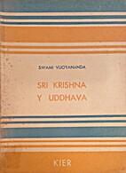 Sri Krishna y Uddhava by Vijoyananda