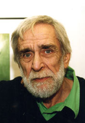 Author photo. Don Lawrence at Galerie Lambiek in 1990