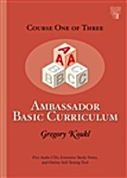 Ambassador Basic Curriculum: Course One by…