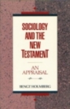 Sociology and the New Testament: An…