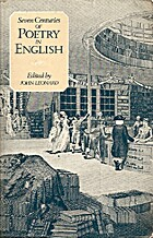 Seven centuries of poetry in English by John…